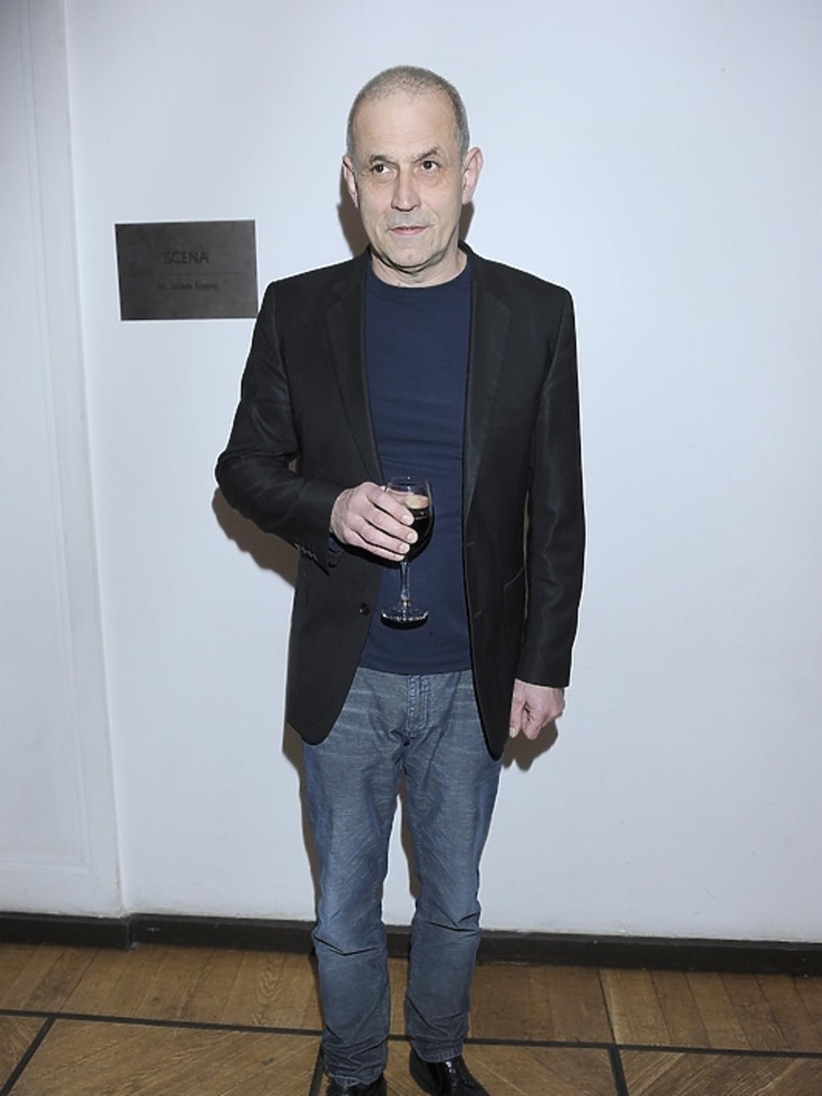 Krzysztof Stelmaszyk na premierze