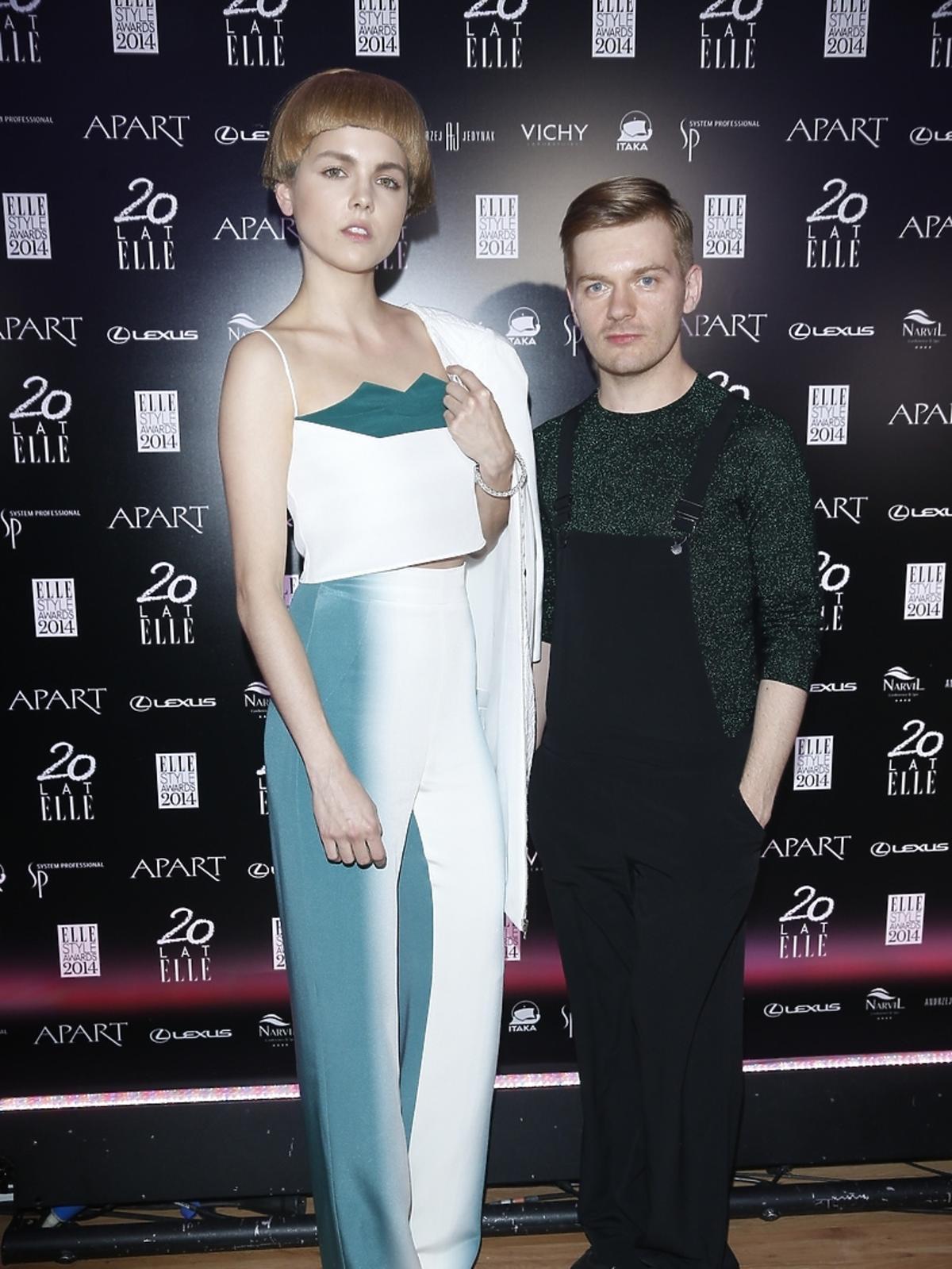 Krzysztof Stróżyna na Elle Style Awards 2014