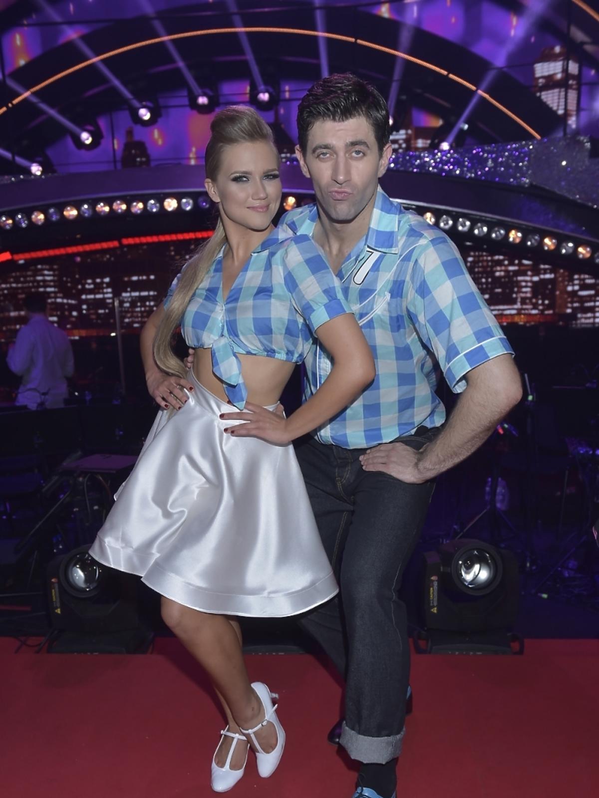 Krzysztof Wieszczek i Agnieszka Kaczorowska w