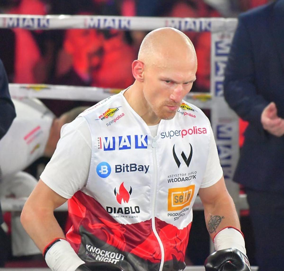 Krzysztof Włodarczyk na ringu