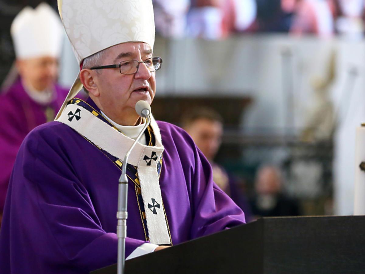 Ks. arcybiskup Sławoj Leszek Głódź, metropolita gdański