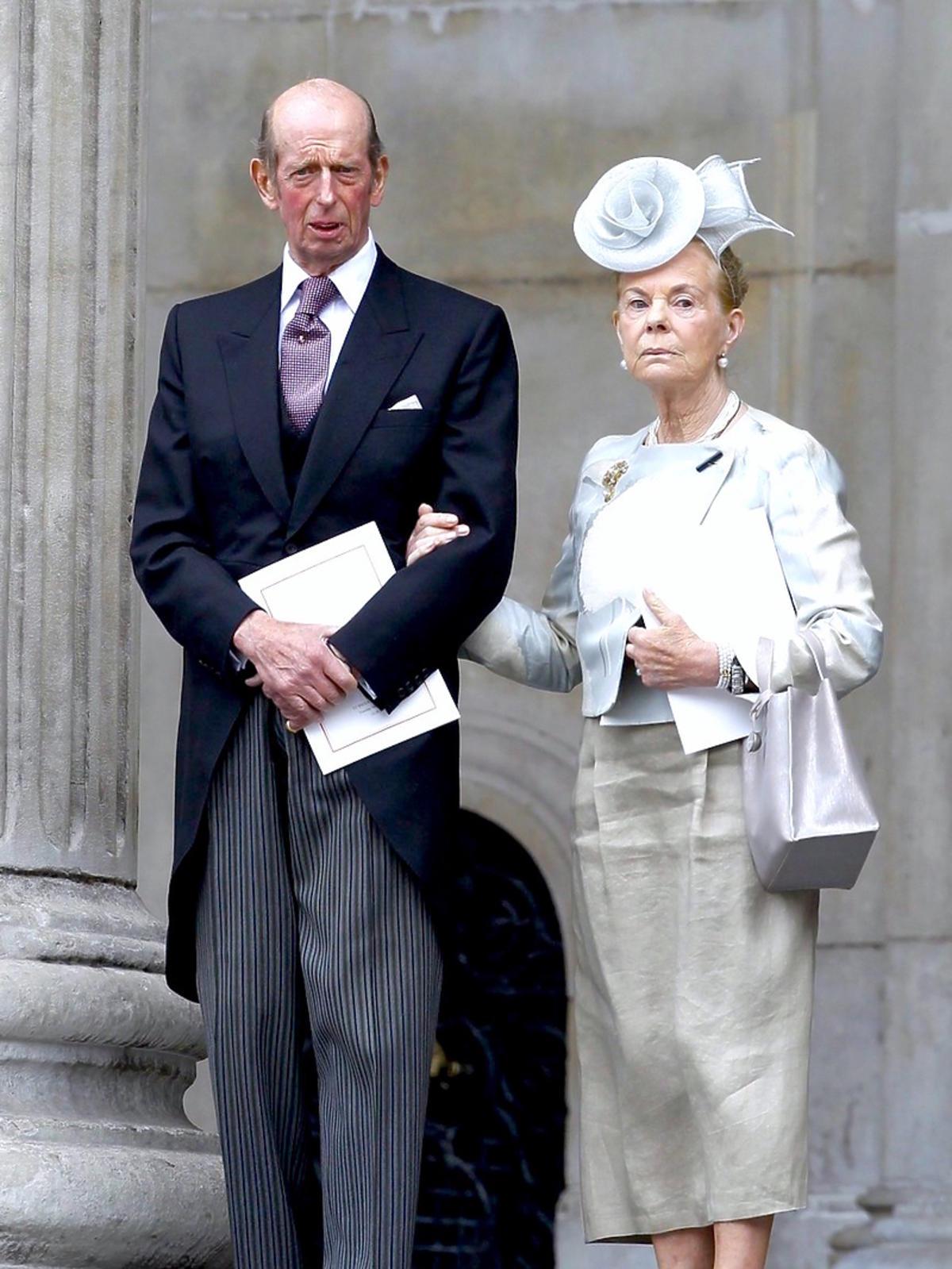 Książę Edward i księżna Katarzyna