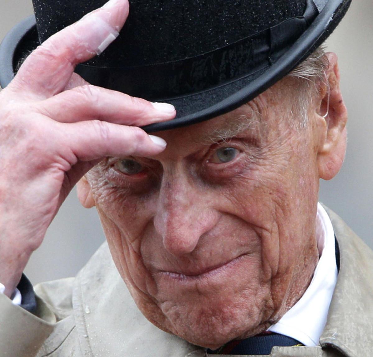Książę Filip, pożegnanie