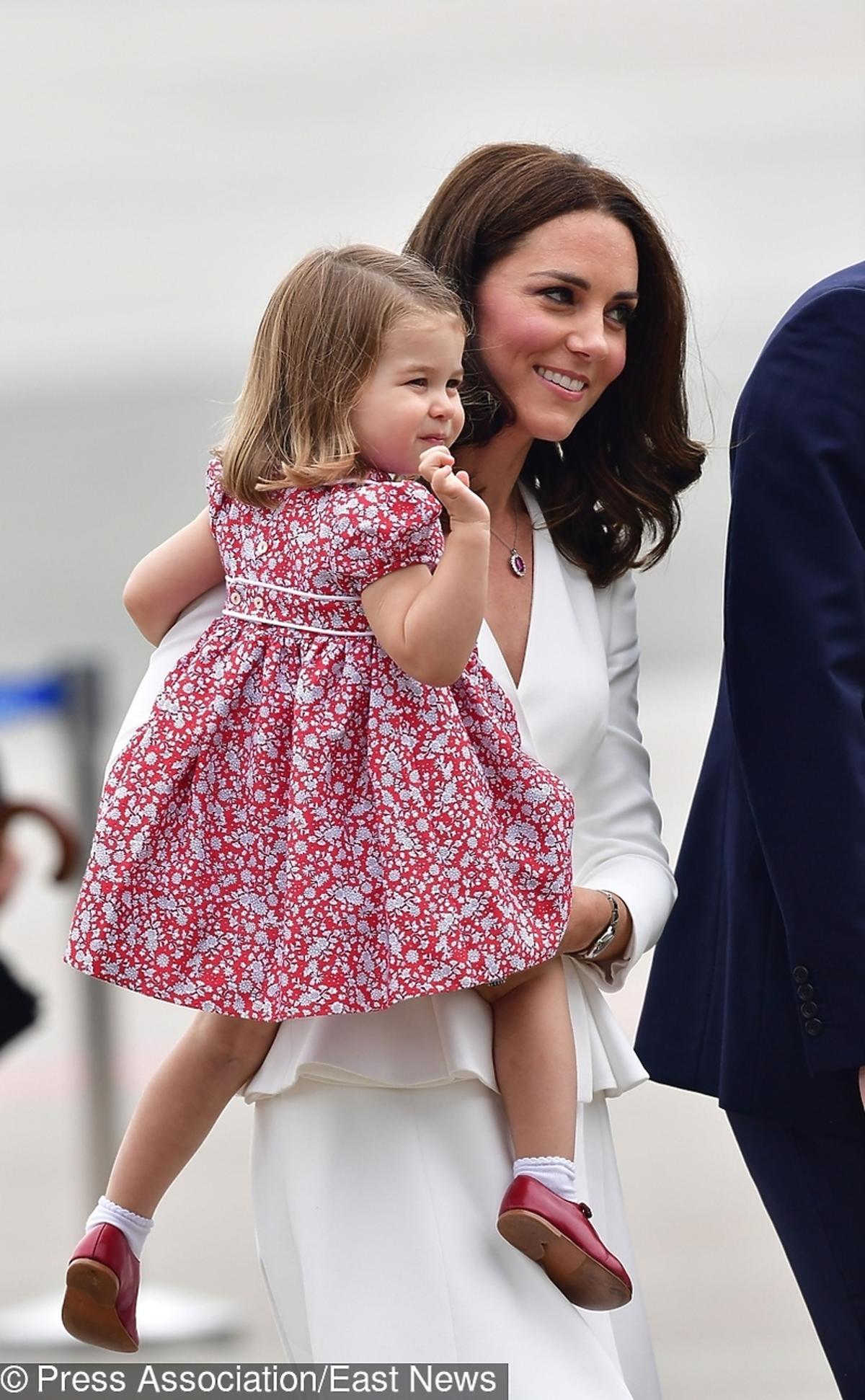Książe George i księżniczka Charlotte w Polsce