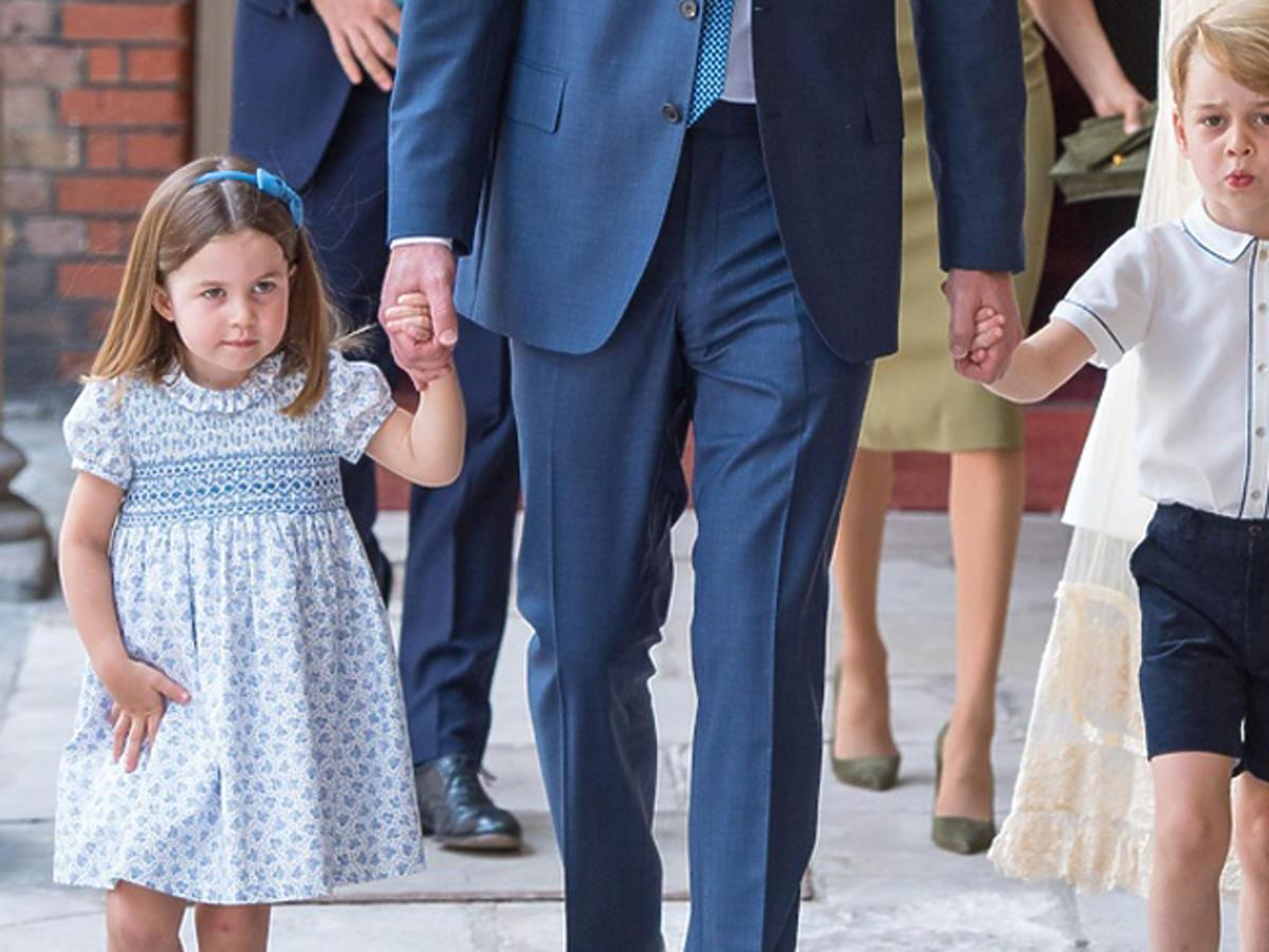 Książę George ma dość małej Charlotte