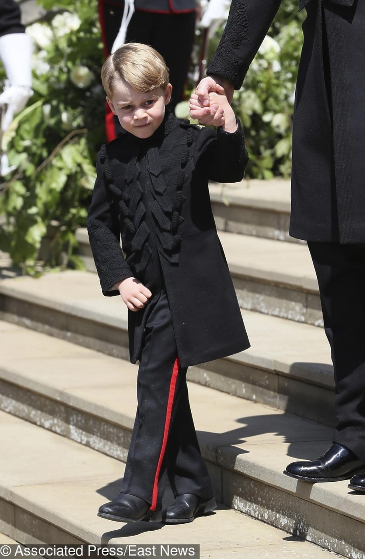 Książę George na ślubie