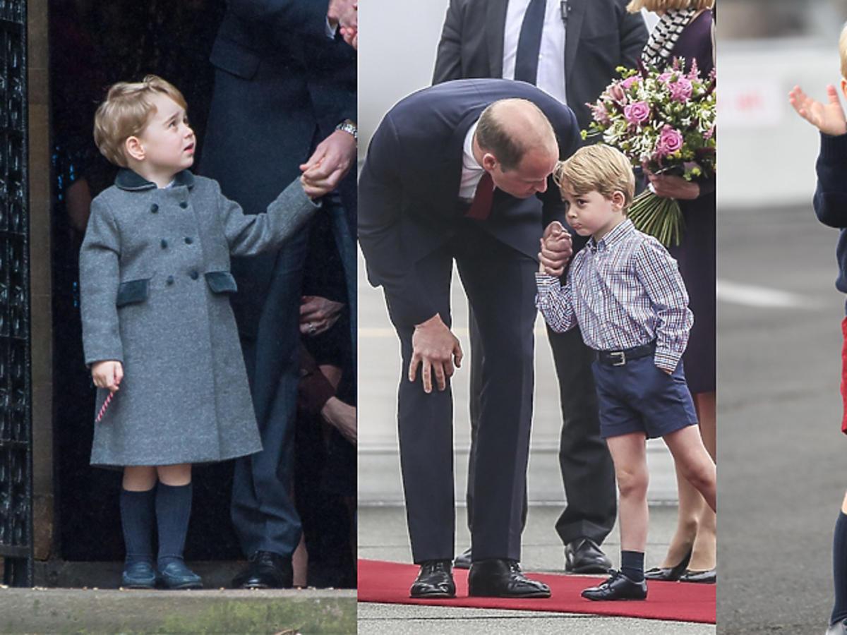 Książę George zawsze w szortach. Dlaczego?