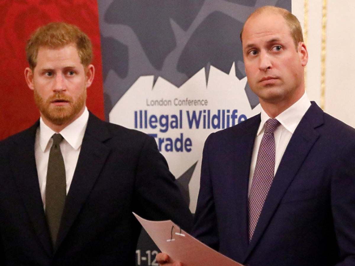 Książę Harry i Książę William skłóceni