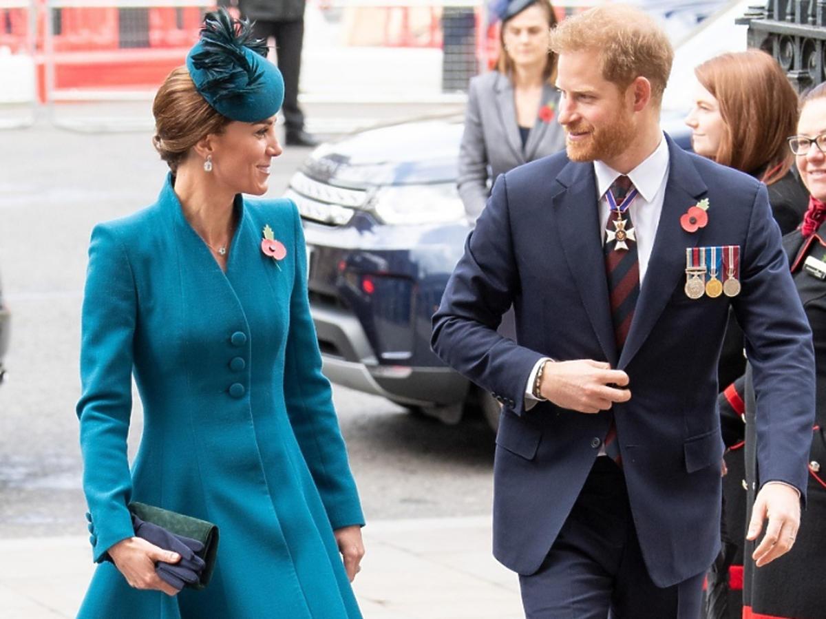 Książę Harry i księżna Kate