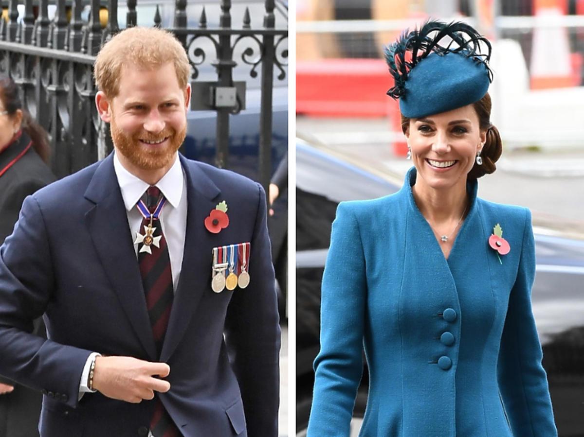 Książę Harry i księżna Kate na oficjalnej wizycie