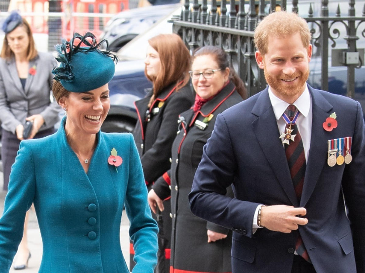 Książę Harry i księżna Kate razem