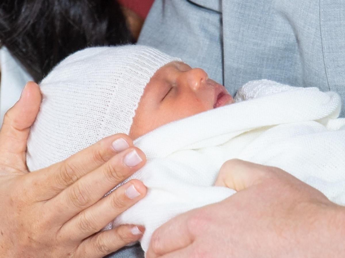 Książę Harry i Meghan Markle pokazali syna