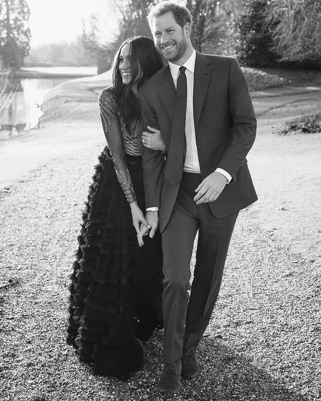 Książę Harry i Meghan Markle - zdjęcia z zaręczyn