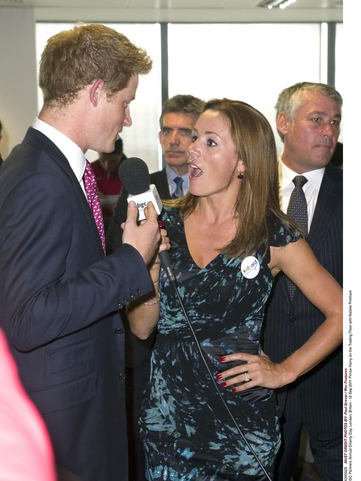 Książę Harry i Natalie Pinkham, 2002 rok