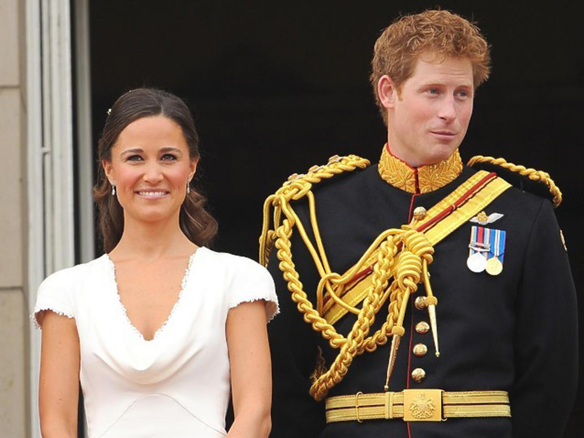 Książę Harry i Pippa Middleton podczas ślubu Williama i Kate