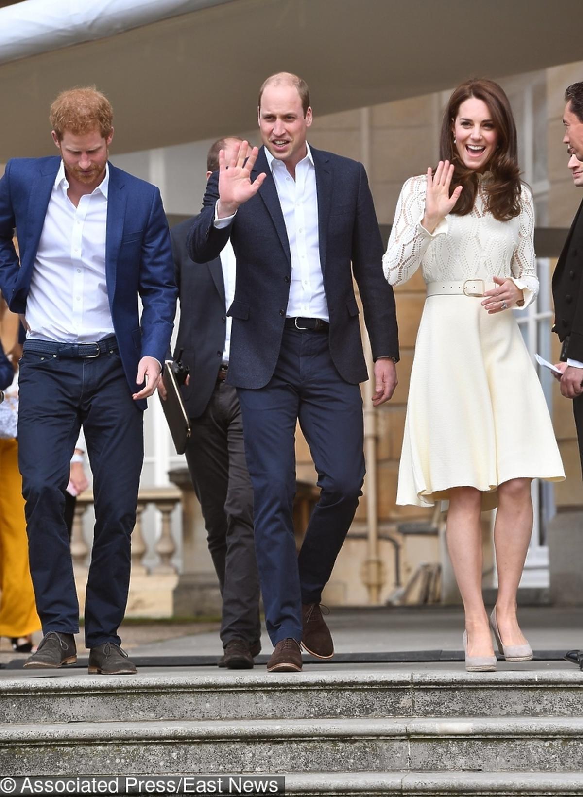 książę Harry, książę William, księżna Kate