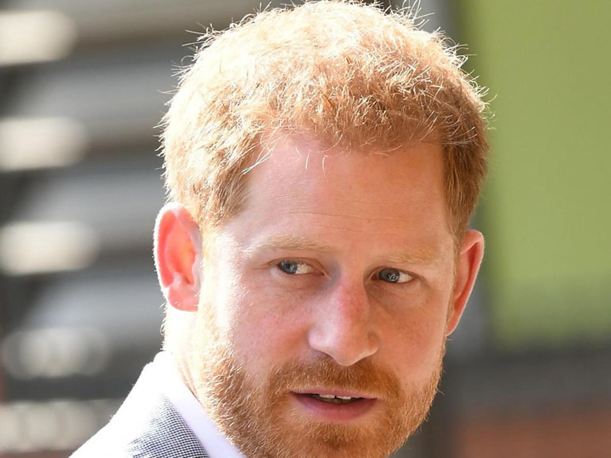książę Harry odwiedził szpital dziecięcy