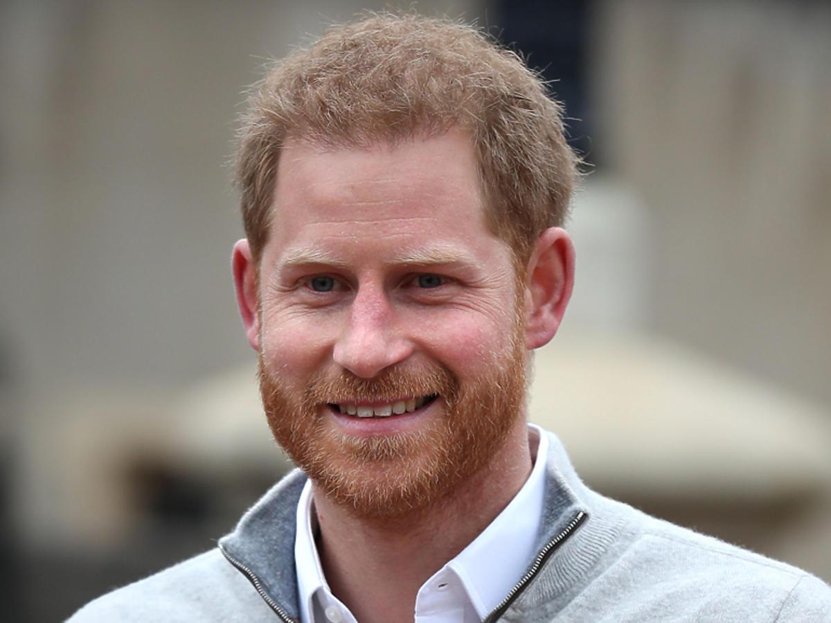 Książę Harry po porodzie Meghan