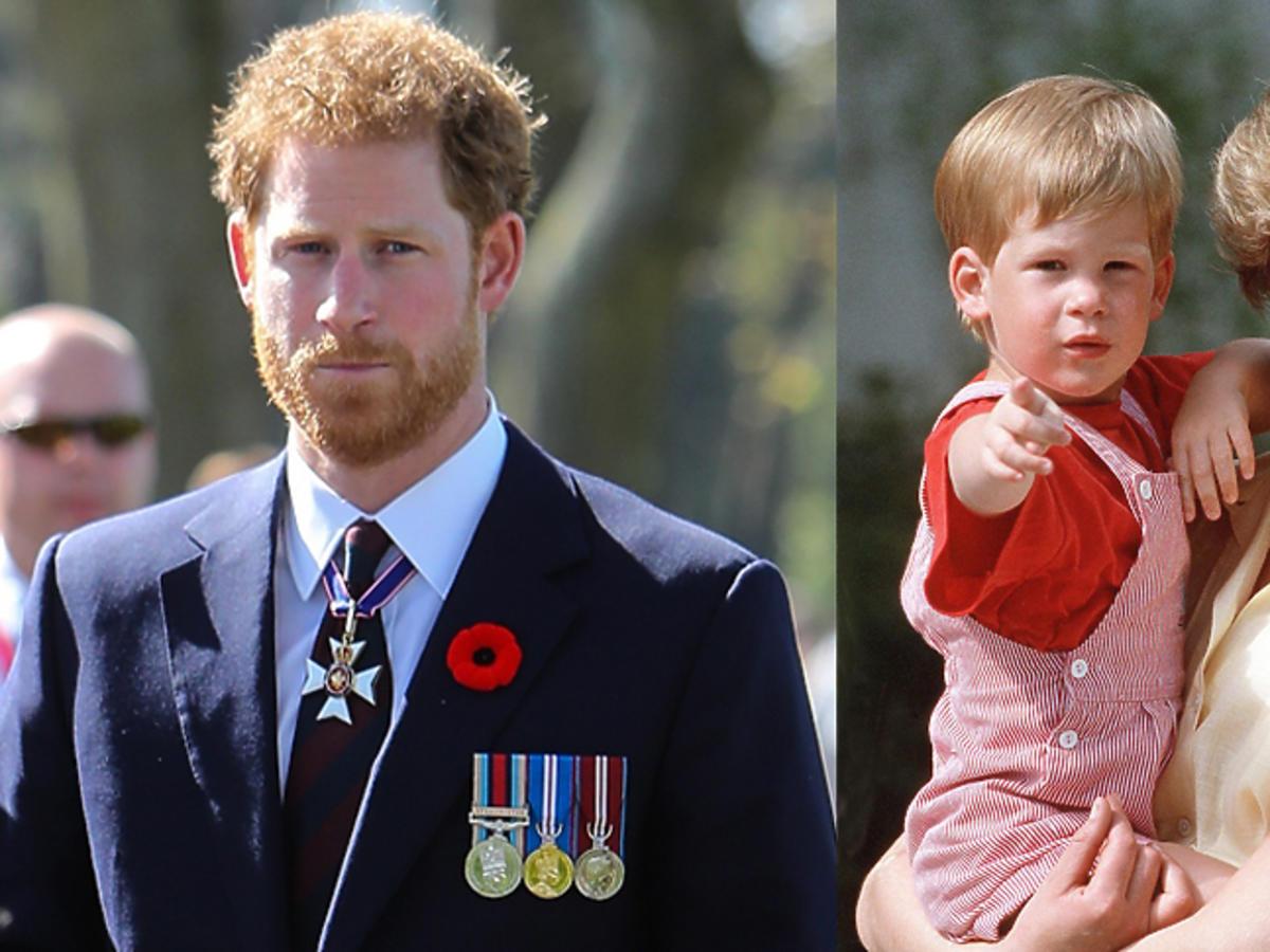 Książę Harry w dzieciństwie z mamą księżną Dianą