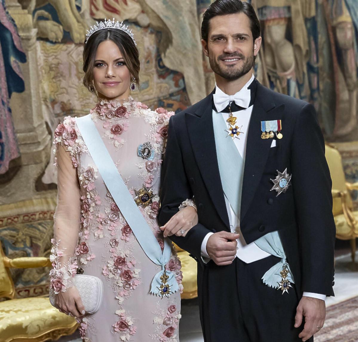 Książę Karol Filip z żoną