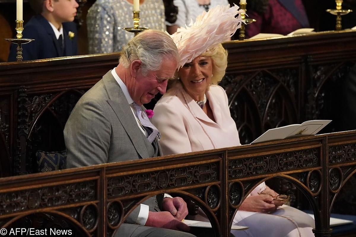 Książę Karol i Camilla Parker Bowles na ślubie Meghan Markle i księcia Harry'ego