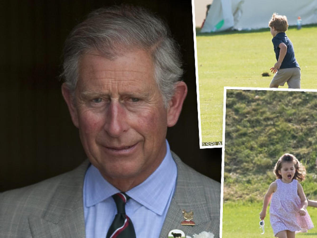 książę Karol, książę George, księżniczka Charlotte
