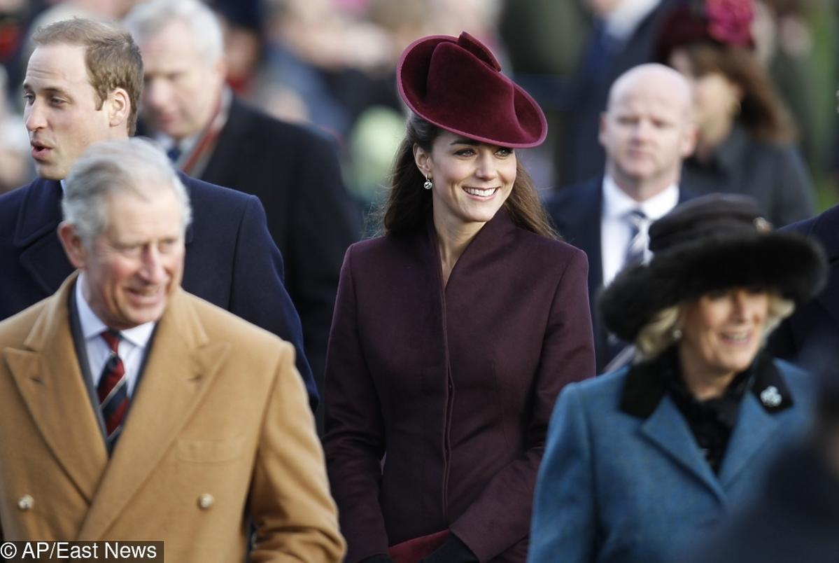 książę Karol, księżna Kate, książę William