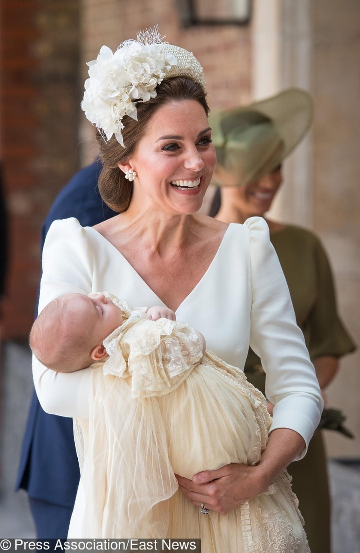 książę Louis chrzest, księżna Kate