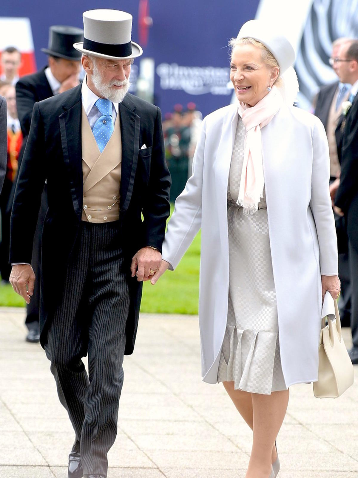 Książę Michał i księżna Michael