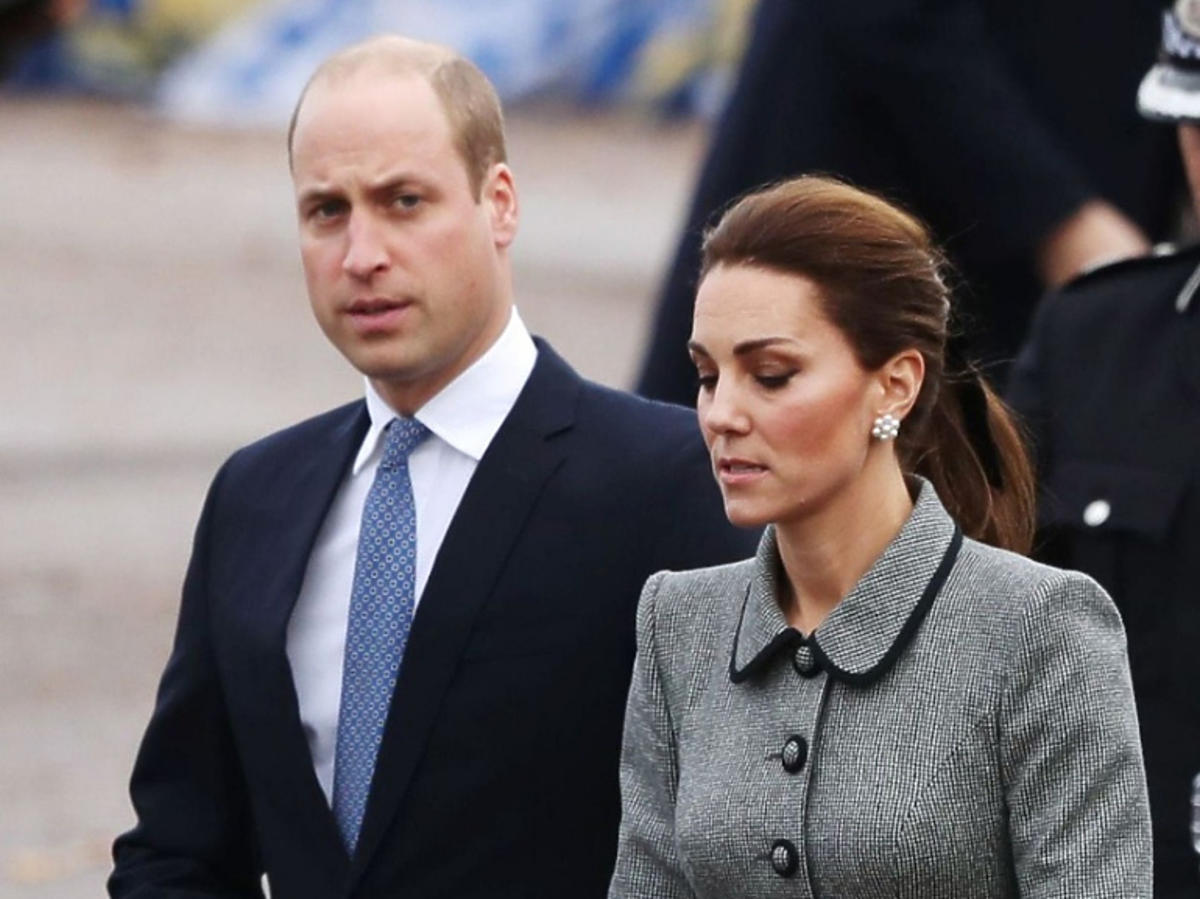 Książę William i księżna Kate na oficjalnej uroczystości