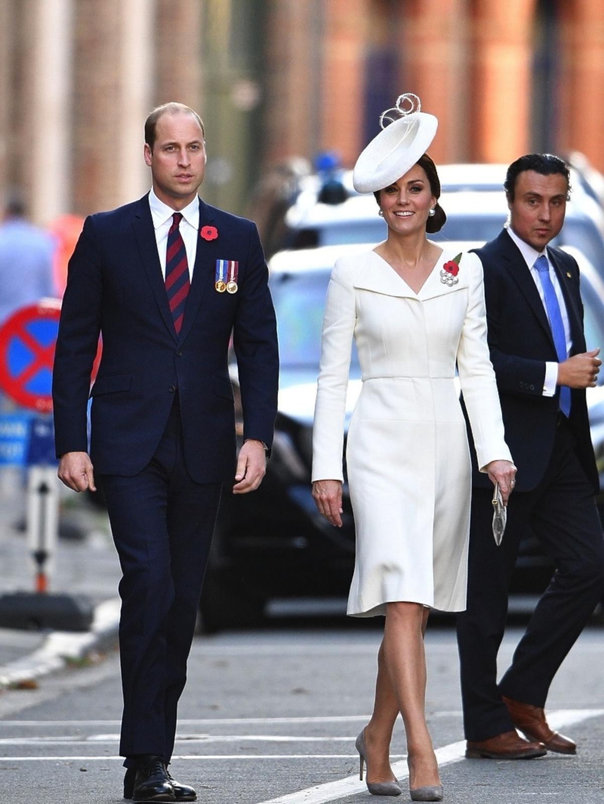 Książę William i księżna Kate na wizycie w Belgii