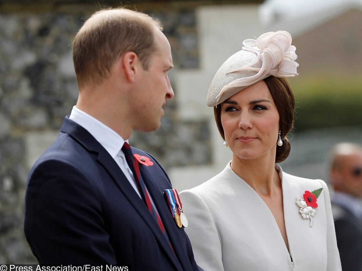 Książę William i księżna Kate podczas oficjalnej podróży
