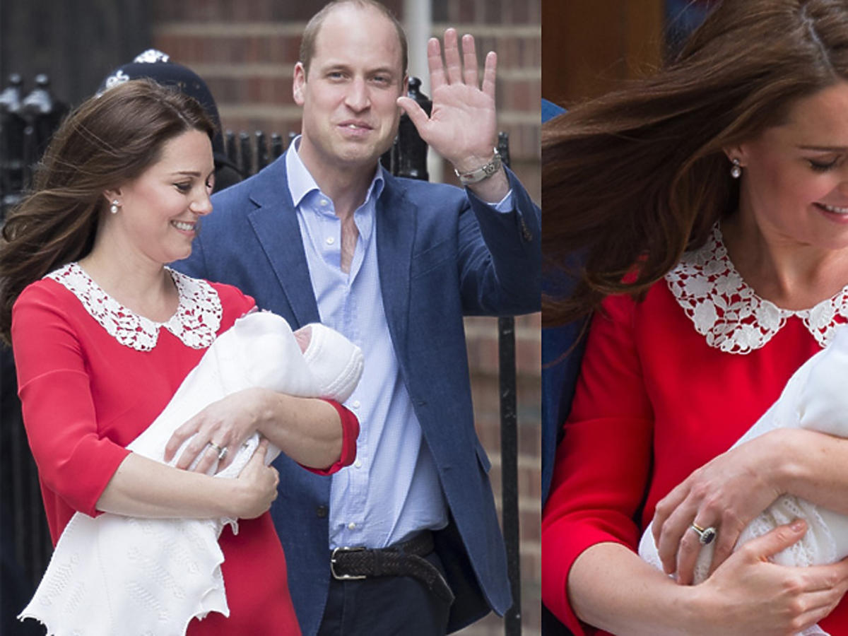 Książę William i księżna Kate pokazali syna