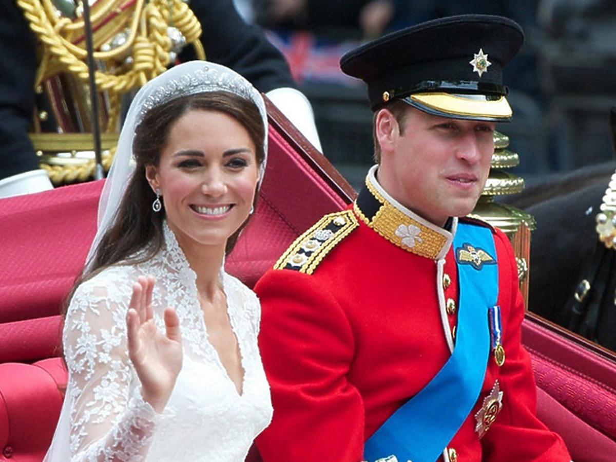 Książę William i księżna Kate ślub 29 kwietnia 2011 roku w Londynie