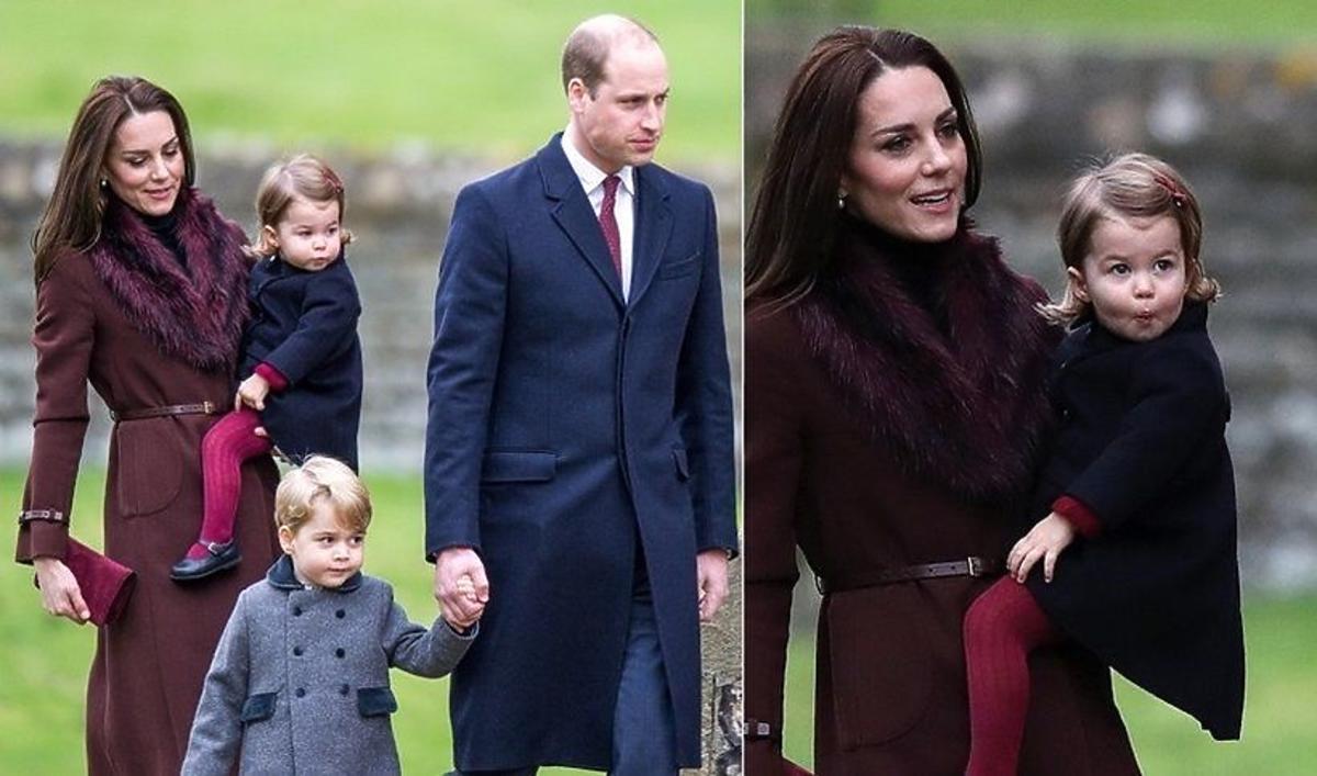 Książę William i księżna Kate z synem i córką przylecą do Polski