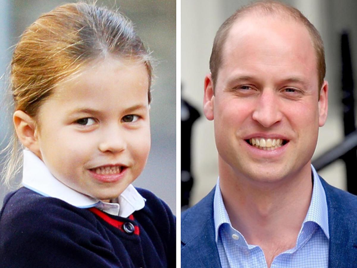 Książę William i Księżniczka Charlotte
