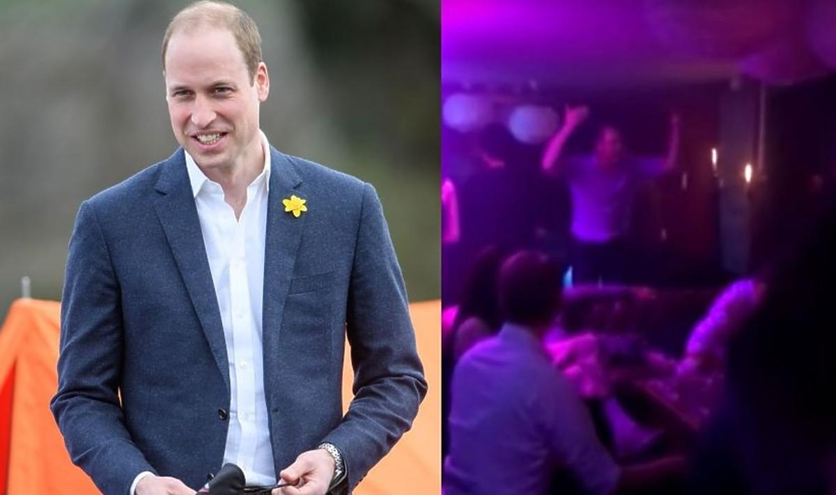 Książę William imprezuje w klubie nocnym
