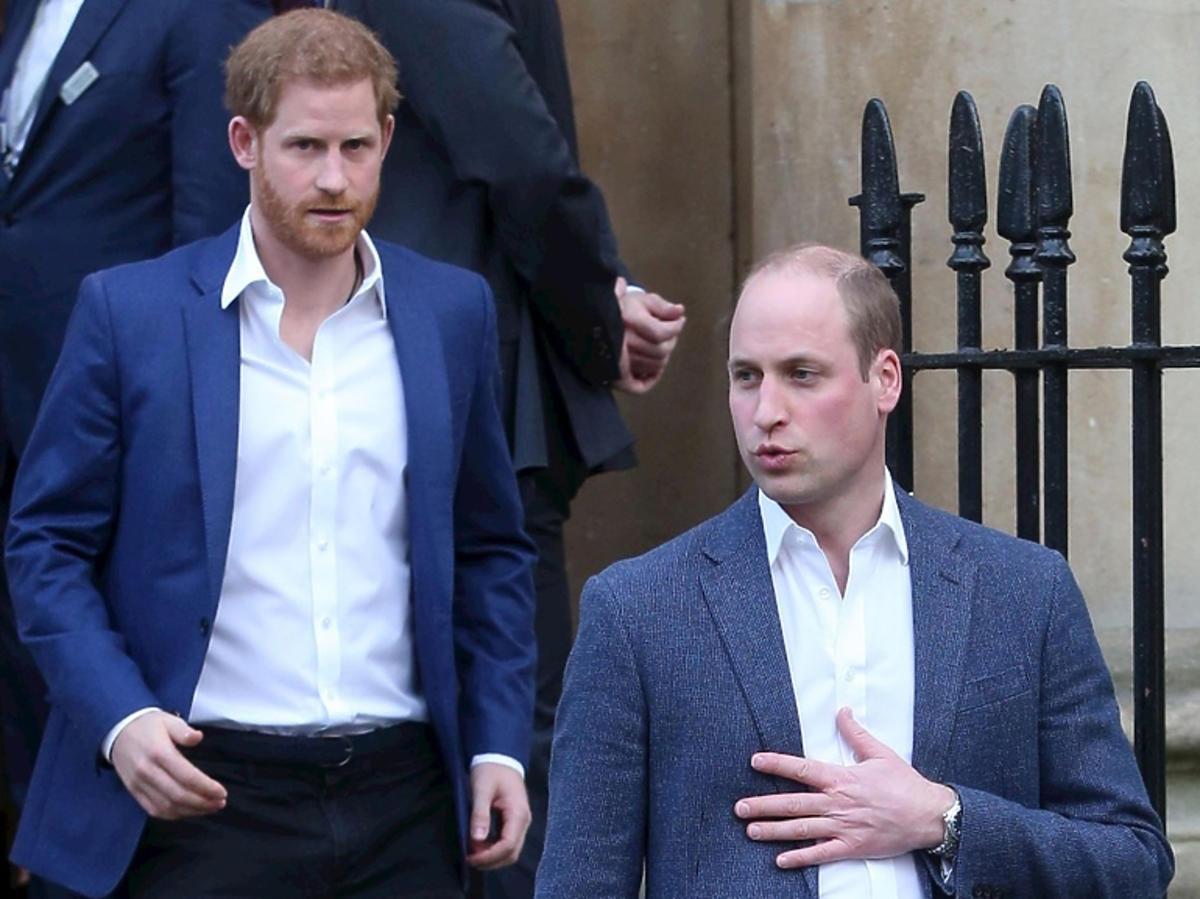 książę William, książę Harry pogodzili się?