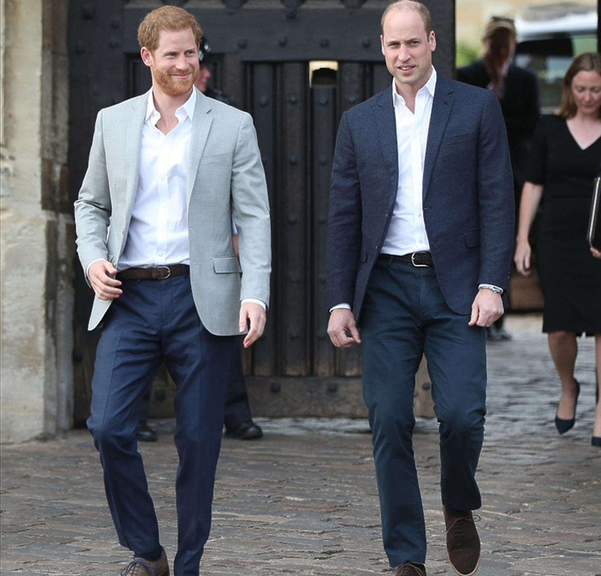 książę William, książę Harry są ze sobą skłóceni