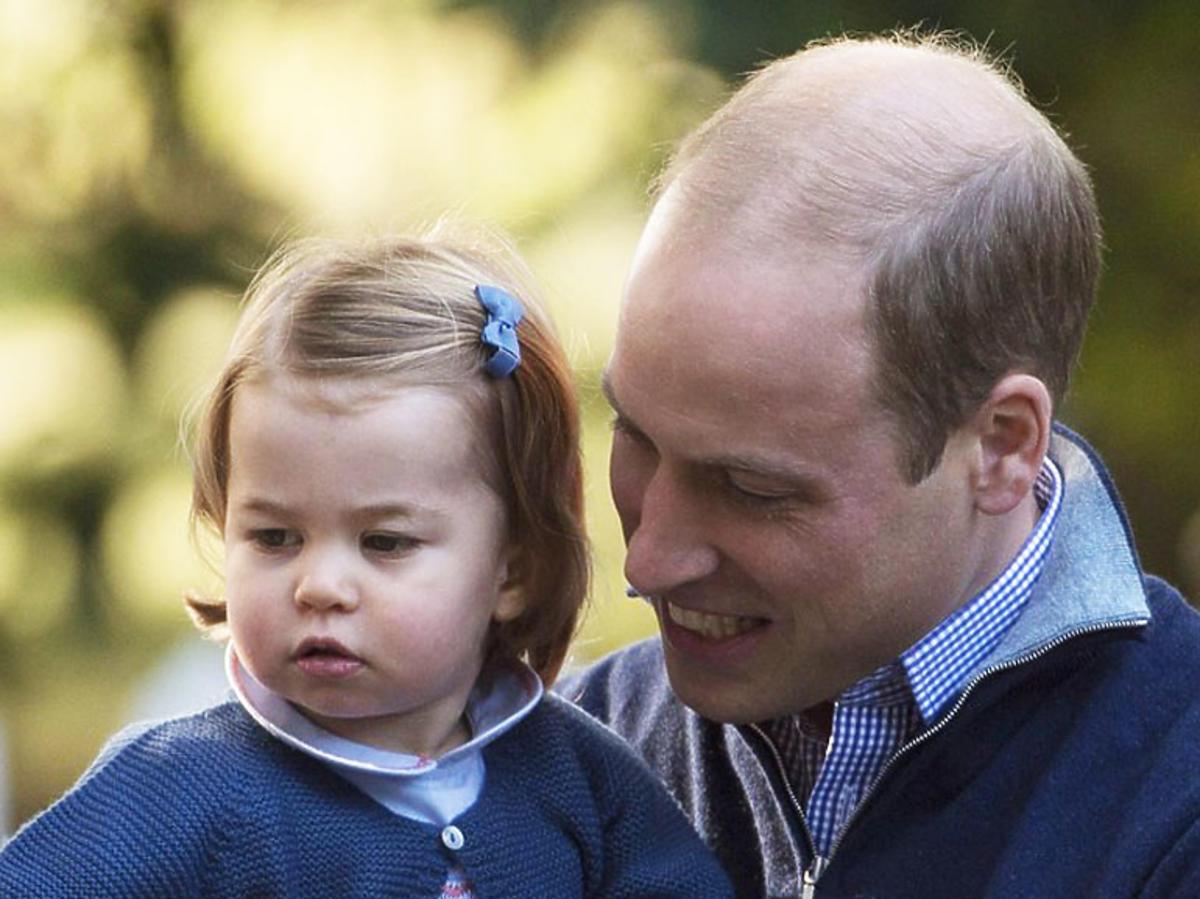 książę William, księżniczka Charlotte