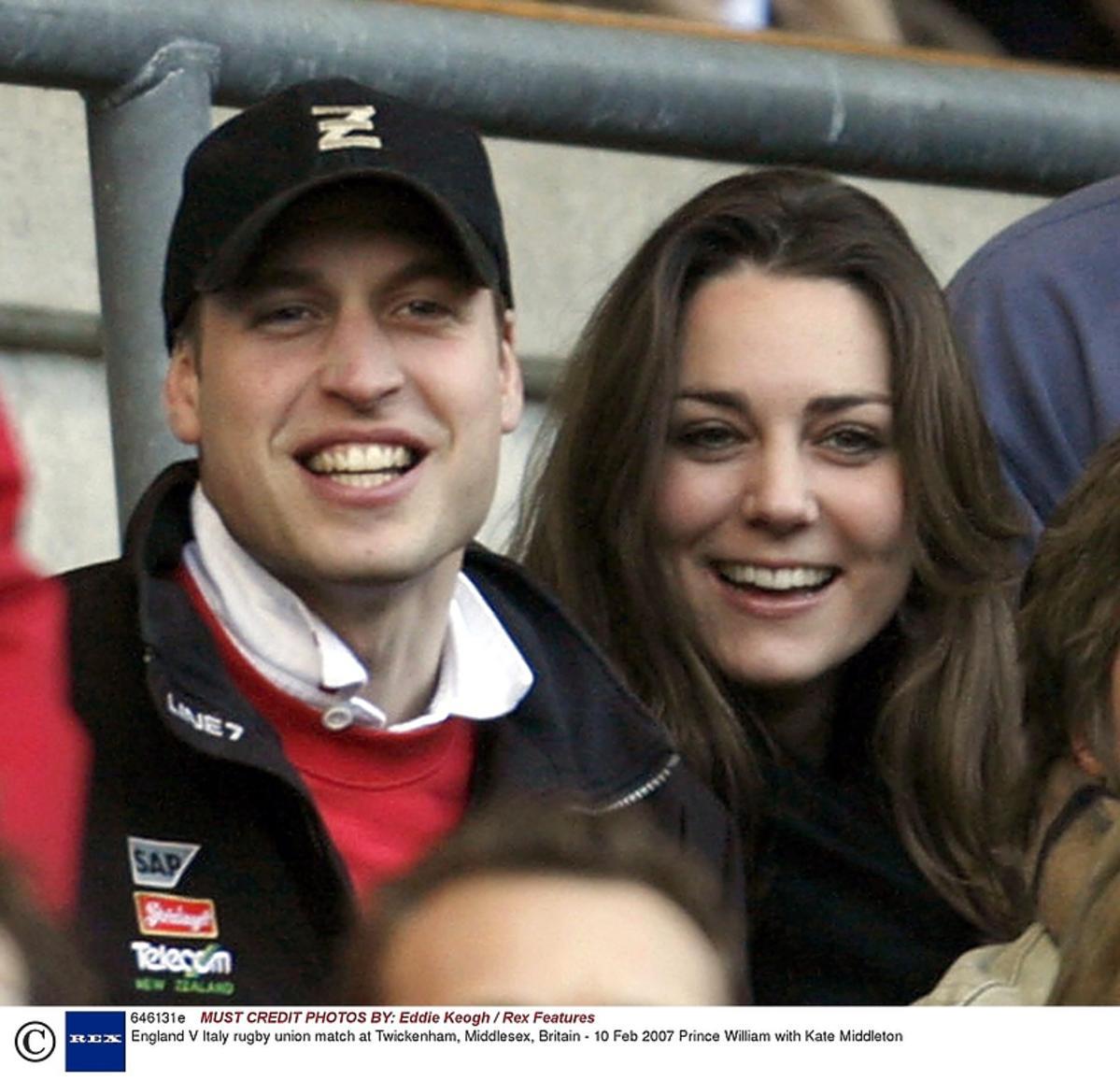 Księże William i księżna Kate początki związku