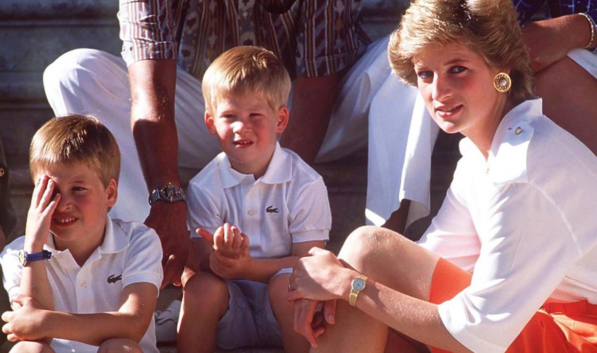 księżna Diana, Harry, Wiliam