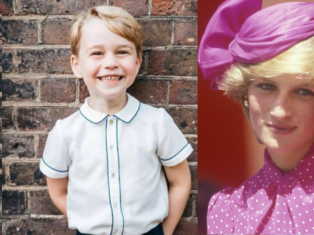 Księżna Diana i George