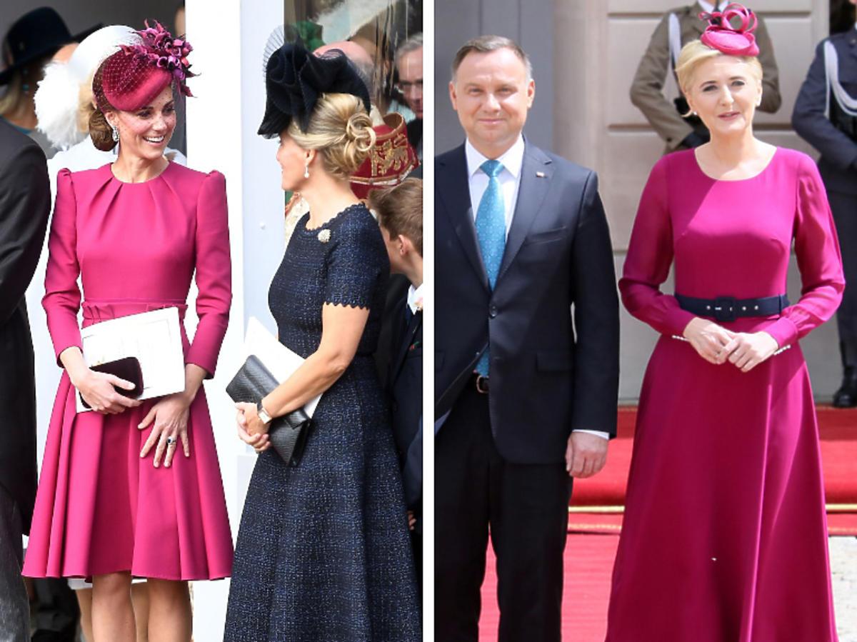 księżna Kate, Agata Duda w prawie identycznej stylizacji