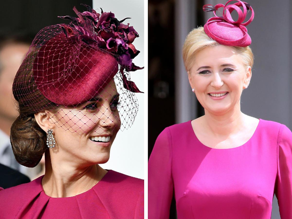 księżna Kate, Agata Duda wyglądają tak samo