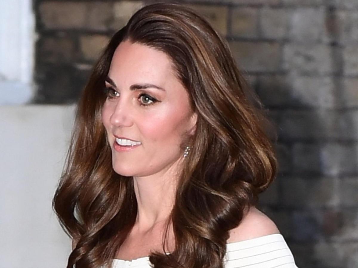 Księżna Kate fryzura