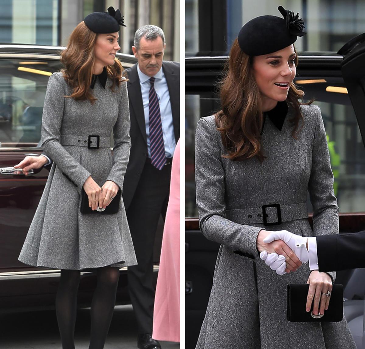księżna Kate i królowa Elżbieta II publicznie razem