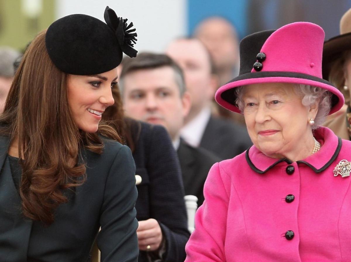 Księżna Kate i królowa Elżbieta razem