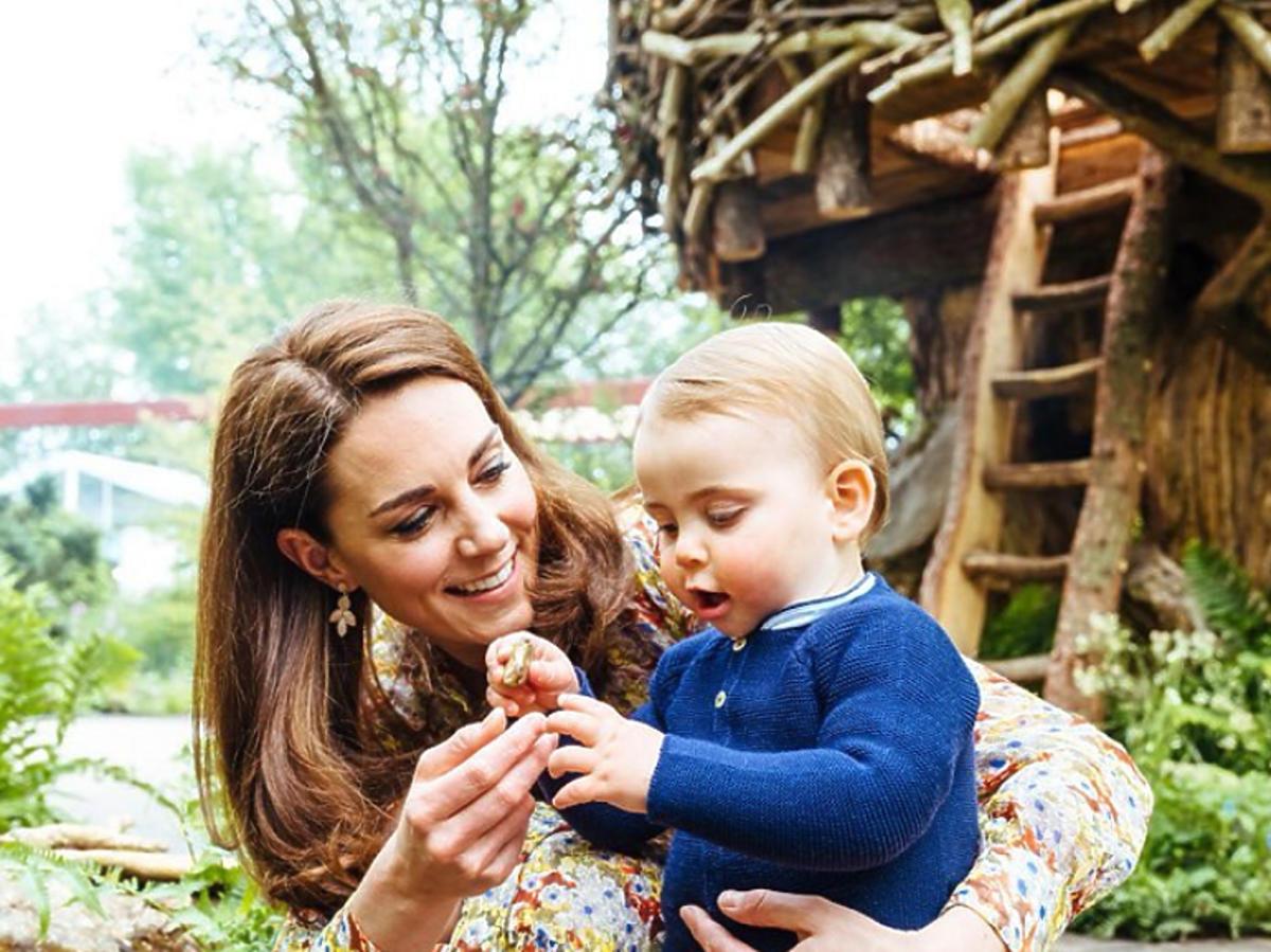 Księżna Kate i książę Loius