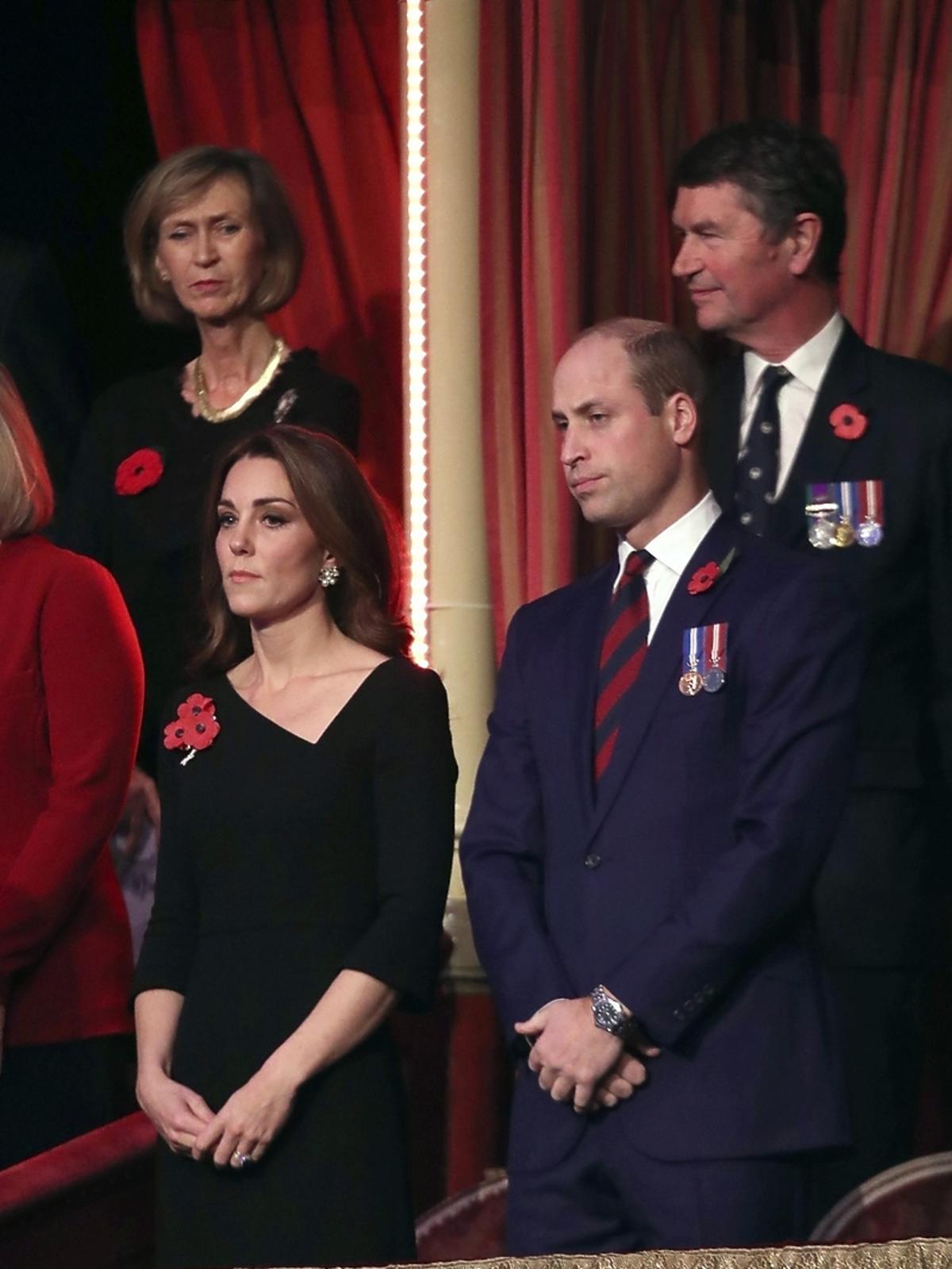 Księżna Kate i książę William na obchodach Dnia Pamięci
